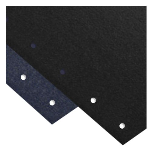 """Vinyl Covers [Black, 11-Hole for Velo Bind, 8-1/2"""" x 11"""" with Square Corners] (100 / Box) Image 1"""