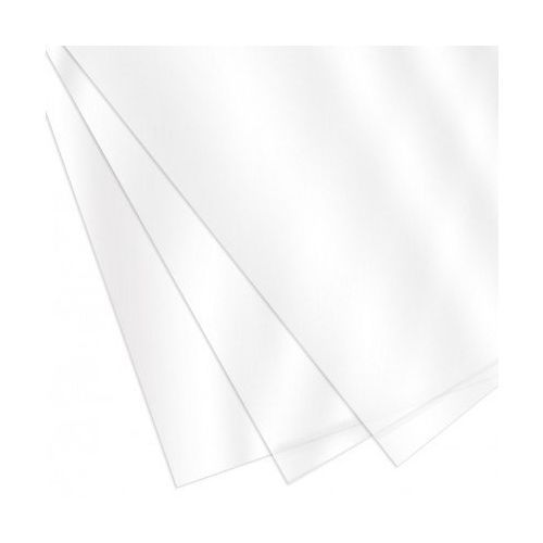 "Clear Gloss Covers [8-1/2"" x 14"" with Square Corners, 7 Mil, Unpunched, With Tissue] (100 / Box) Image 1"