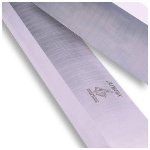 Diamond Cut Paper Cutter Blades [10 holes / metric 10, polar/heidelberg, 82el/80hy #208867/208868, 38.976 x 4.213 x.381, standard inlay steel] Image 1