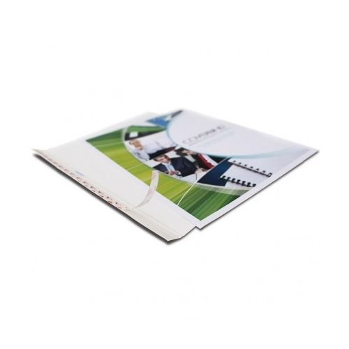 "3/8""Coverbind Design On-Demand Covers [White] (20 / Box) Image 1"