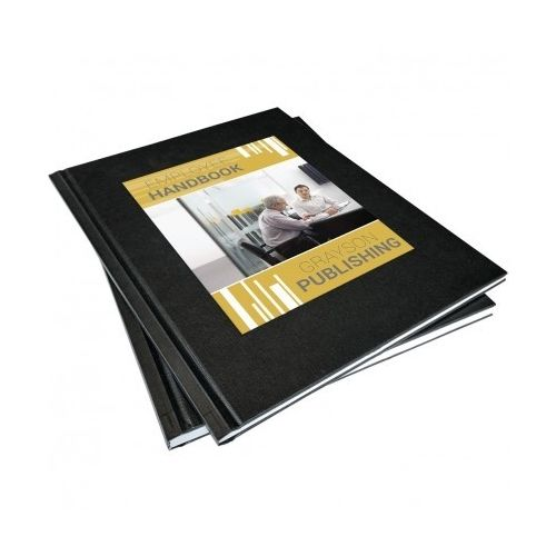 """3/4"""" Coverbind Hardcover On-Demand [Black] (5 / Box) Image 1"""