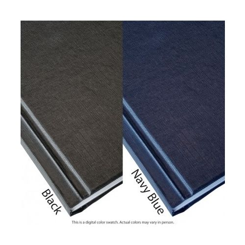 "3/8"" Coverbind Hardcover with Window Thermal Binding Covers [Navy] (9 / Box) Image 1"
