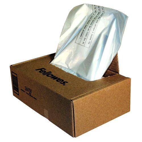 Fellowes Shredder Bags for 425 and 485 Series Shredders - 3605801 Image 1