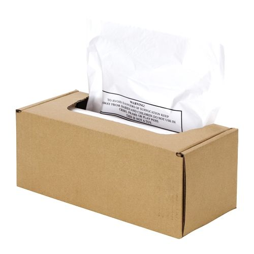 Fellowes Shredder Bags for AutoMax 500CL/500C/300CL/300C Shredders - 3608401 Image 1