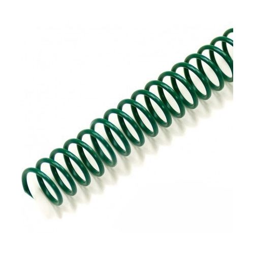 """4:1 Forest green 12"""" Spiral Plastic Coils Image 1"""