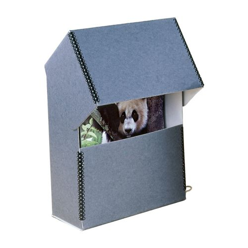 Flip-Top Magazine Storage Box - Front Display - Buy101