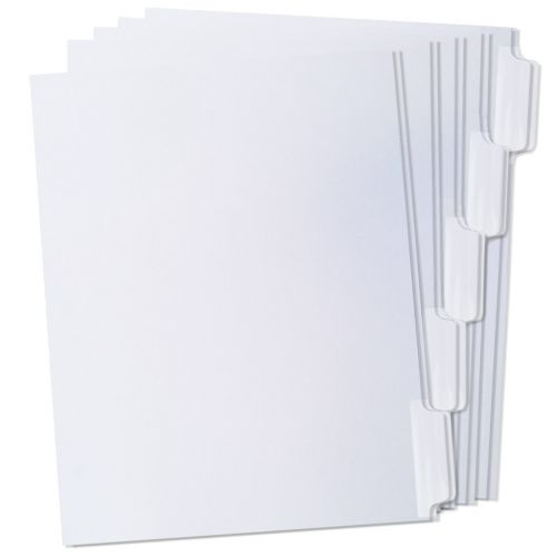 1/5 Cut Double Reverse Collated Copier Tabs
