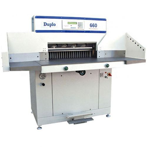 Duplo 660P Hydraulic Programmable Paper Cutter - Buy101