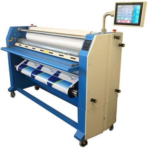 """GFP 663TH 63"""" Production Wide Format Cold Laminator with Top-Heat"""