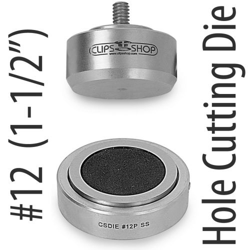 #12 Hole Cut Die