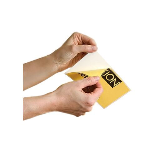 "3 ¼"" x 5 ¼"" Photo Adhesive-Back Laminating Pouches"