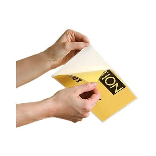 Adhesive-Back Laminating Pouches