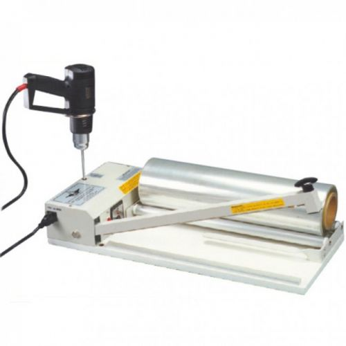 "AIE 40"" I-Bar Sealer [With Heat Gun & PVC Shrink Film] Item#04AIE2040I"