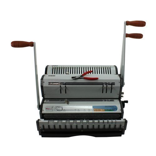 Akiles DuoMac 421 4:1 Plastic Coil and 2:1 Wire Binding Machine