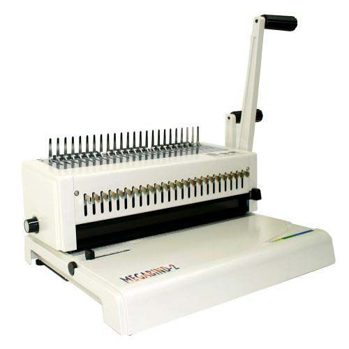 Akiles Megabind 2 Comb Binding Machine with Wire Closer