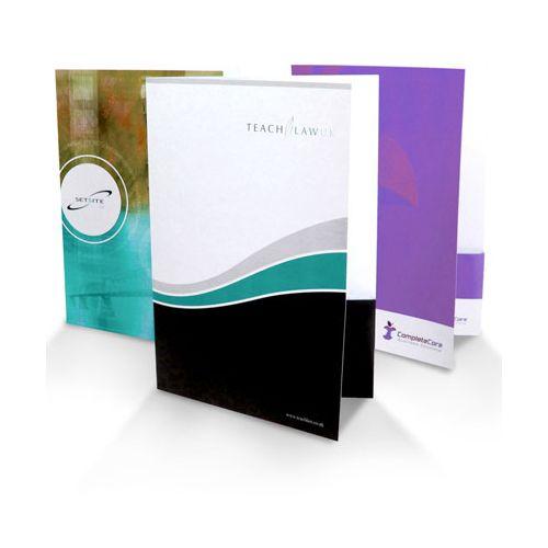 Custom Paper Pocket Folders