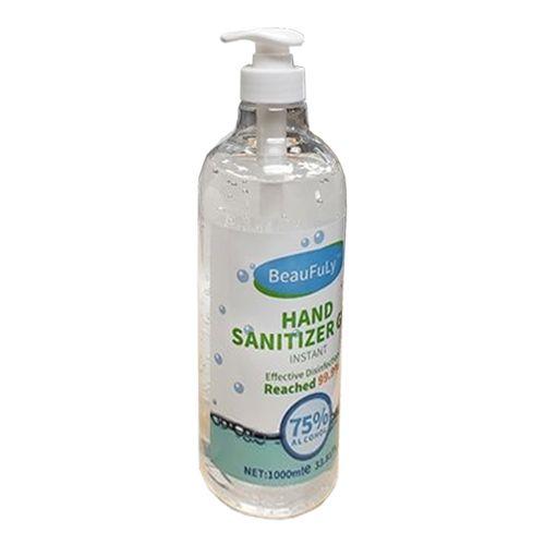 33.8oz Hand Sanitizer Gel [Pump Style Bottle] - 75% Ethanol