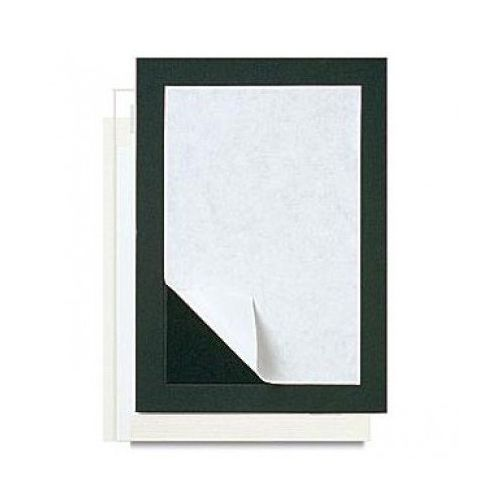 Black Self Adhesive Pre-Cut Mount Boards (Box of 10) Image 1