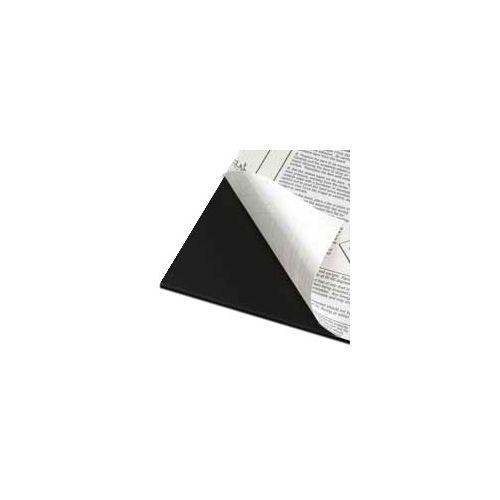 """32"""" x 40"""" Black Self-Stick Foam Boards [1 Side Adhesive] (25/Bx) Item#80SSFB3240B"""
