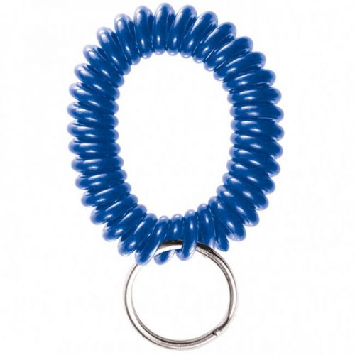 Blue Wrist Coils with Split Ring