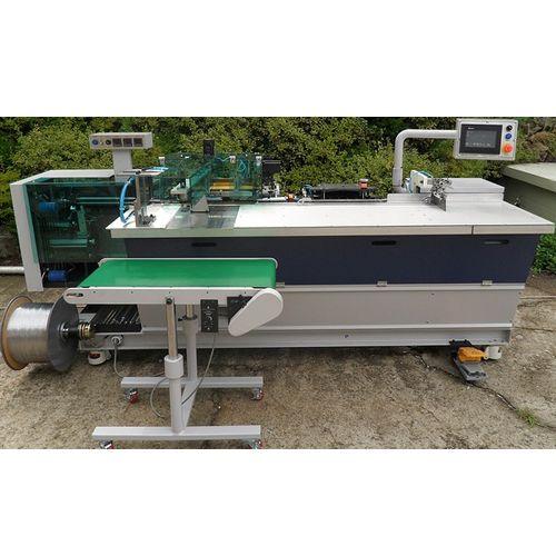 CB40B Automatic Plastic Coil Forming & Binding Machine