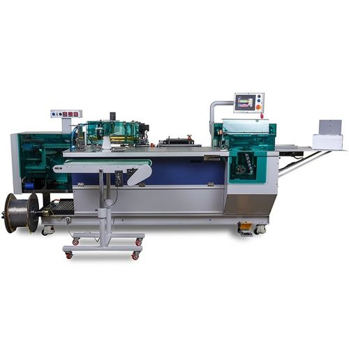 CB40PB Automatic Plastic Coil Punch and Bind Machine Image 1