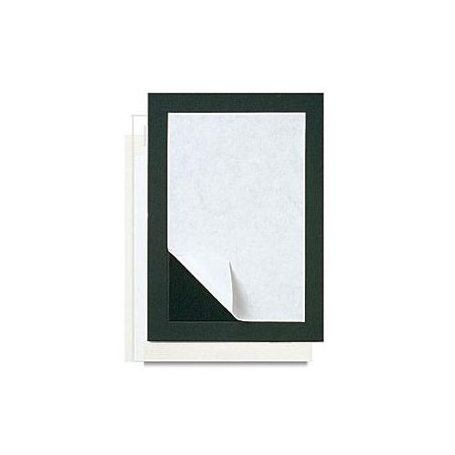 "11"" x 14"" Self-Stick Mat Boards [8 ½"" x 11"" Print, Antique White] (10/Bx) Item#80PMB8511AW"