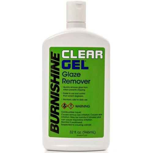 Burnishine Clear Gel Roller & Blanket Cleaner