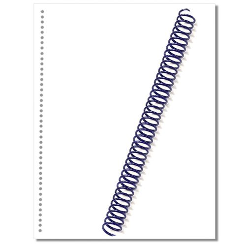 Buy Spiral Binding Coil Pre Punched Paper Spiral Coil Paper Online