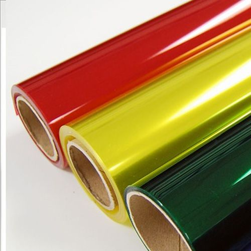 Colored PVC Shrink Wrap Film
