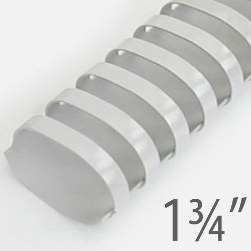 "1 ³/₄"" Gray Plastic Binding Combs (50/Bx) Item#13134GRAY"