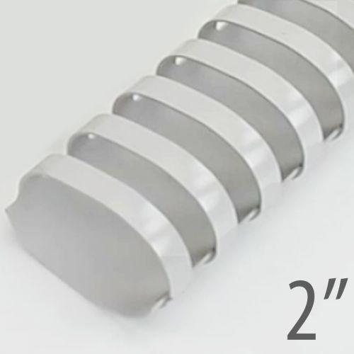 "2"" Gray Plastic Binding Combs (50/Bx) Item#13200GRAY"