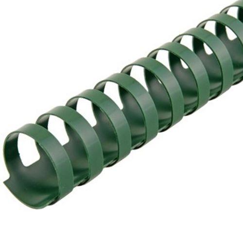 "1"" Hunter Green Plastic Binding Combs (100/Bx)"