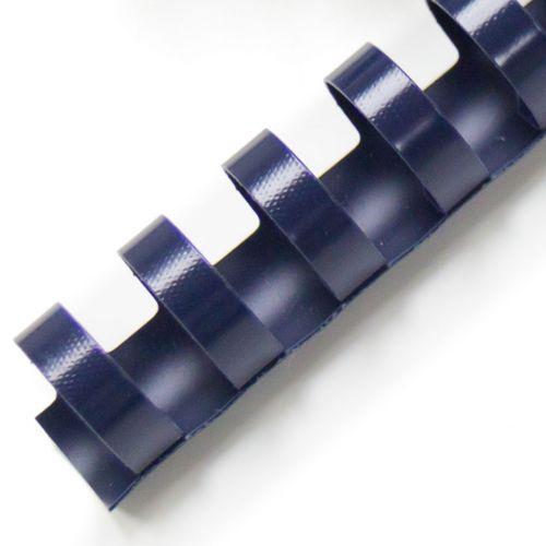 """1-1/8"""" Navy Plastic Binding Combs (100/Bx)"""