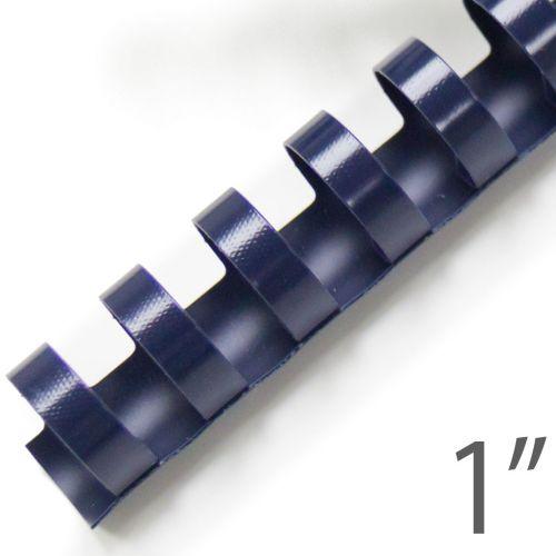 """1"""" Navy Plastic Binding Combs (100/Bx) Item#13100NAVY"""