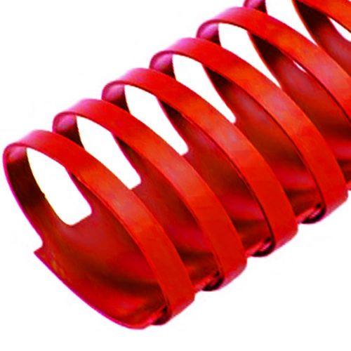 """2"""" Red Plastic Binding Combs (50/Bx)"""