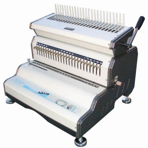 Akiles CombMac-24E Electric Plastic Comb Punch & Binding Machine