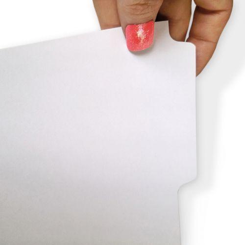 Plain Copier Tab Dividers