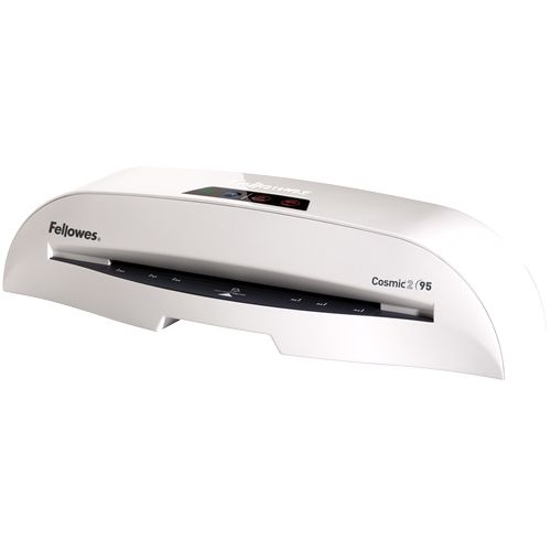 "Fellowes Cosmic 2 95 9.5"" Pouch Laminator with Starter Kit - 5725601 Image 1"