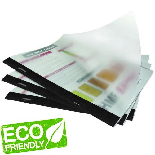 Eco-Friendly Side Staple Wrap-Around Report Covers [Black] (30pk)