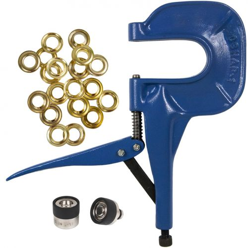 Grommet Pliers Kit with Die & Brass Grommets