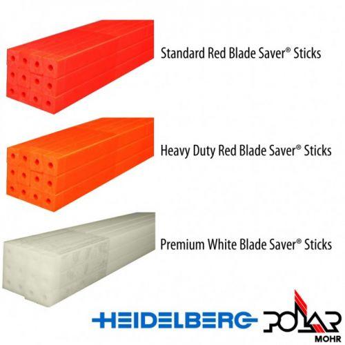 Heidelberg Polar Model 115 Cutting Sticks [45.625 x 0.39 x 0.174, Standard Red] Item#05JYPO3235R