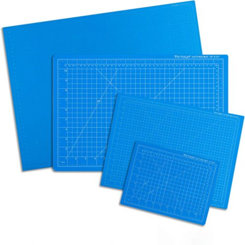 Dahle Vantage Blue Self-Healing Professional-Quality 5-Layer Cutting Mats