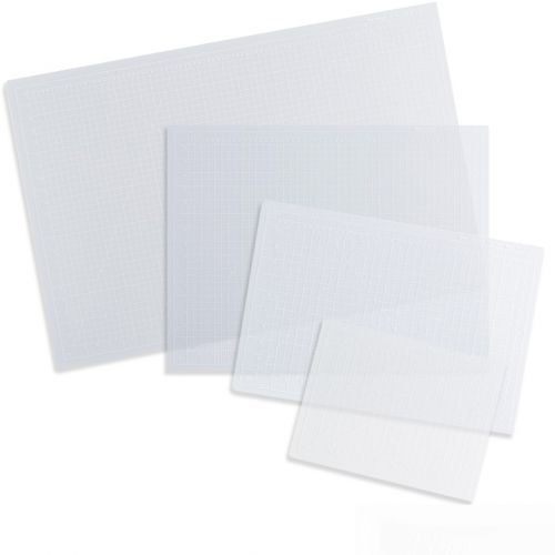 Dahle Vantage Clear Self-Healing Professional-Quality 5-Layer Cutting Mats