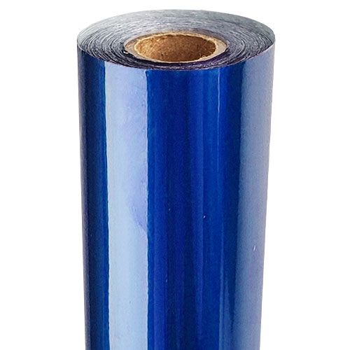 Dark Blue Metallic Foil Fusing Rolls