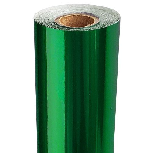 Dark Green Metallic Foil Fusing Roll