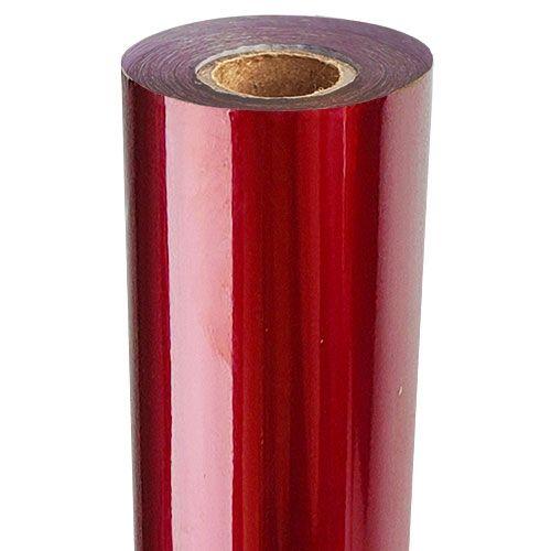 Dark Red Metallic Foil Fusing Rolls