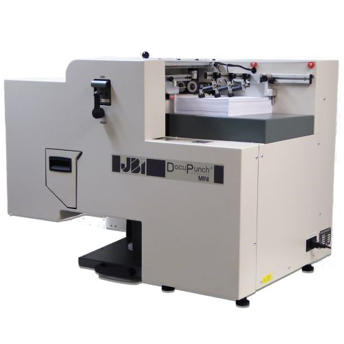 DocuPunch MINI Automatic Punch - Desktop Automated Binding Puncher Machine
