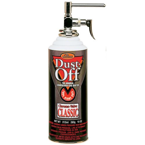 Dust Off® Classic Compressed Gas Duster Can [10 oz.]