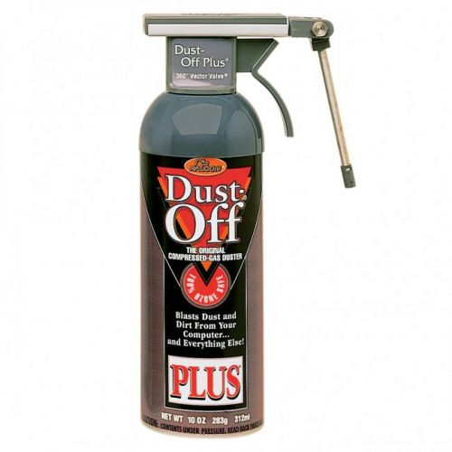 Dust Off® Plus Compressed Gas Duster Can with Vector Valve [10 oz.]